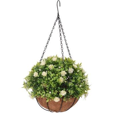 Umělá květina v závěsném květináči Althea, 20 cm