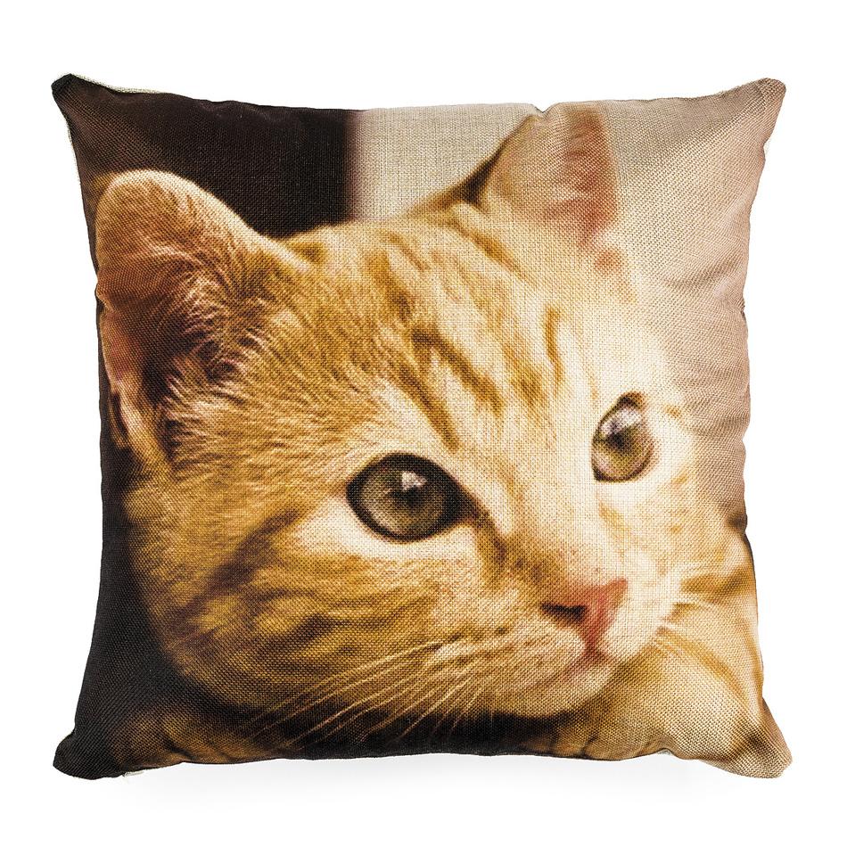 Jahu Obliečka na vankúšik Mačiatko, 45 x 45 cm