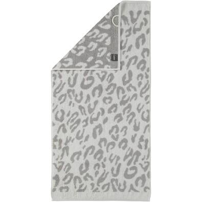 Cawö Frottier ručník Leopard bílá, 30 x 50 cm