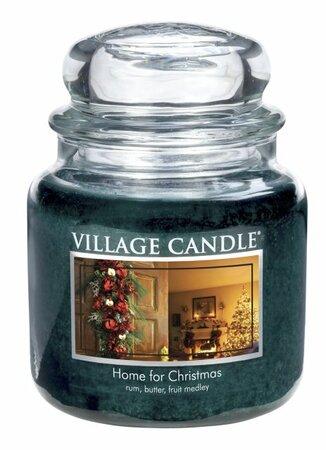 Village Candle Vonná svíčka ve skle, Kouzlo Vánoc - Home for Christmas, 397 g, 397 g
