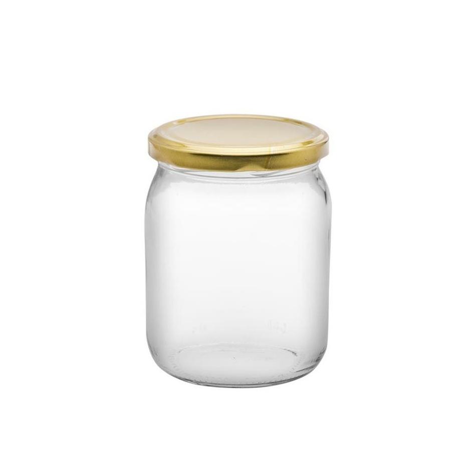 6-dielna sada zaváracích pohárov s viečkom, 540 ml