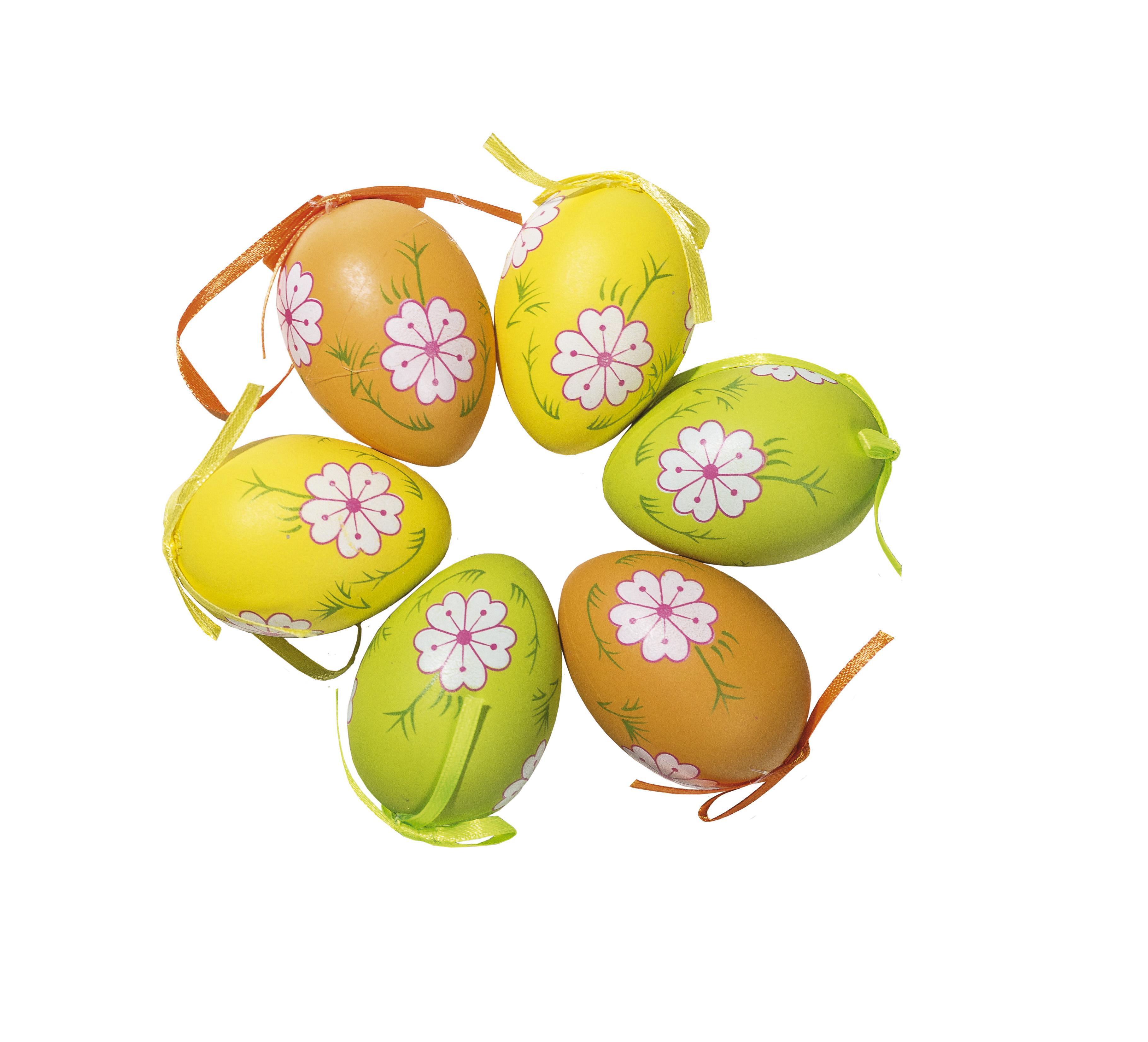 Velikonoční barevná vajíčka, sada 18 ks