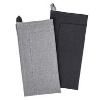 Heda törlőruha, szürke, 50 x 70 cm, 2 db-os szett