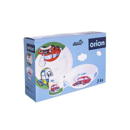 Orion 3-dielna detská jedálenská súprava Auto