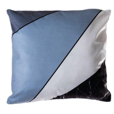 Vankúšik Geometry modrá, 40 x 40 cm