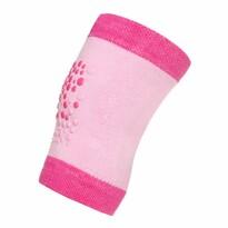 New Baby Dětské nákoleníky s ABS, růžová