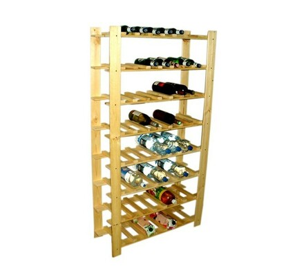 Regál na 56 lahví vína