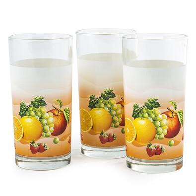 Sada sklenic ovoce 3 ks