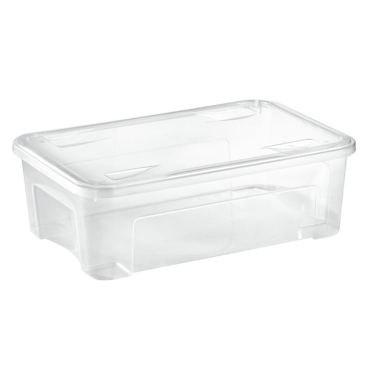 Tontarelli Úložný Combi box s víkem 29,5 l, transparentná