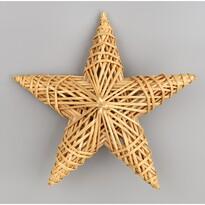 Slamená dekorácia Hviezda, 25 x 25 cm
