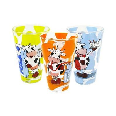 Dekorovaná sklenička 2 ks