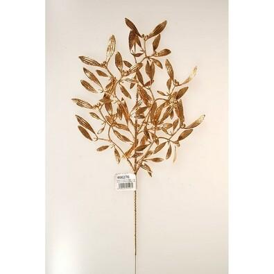 Umělé jmelí se třpytkami, v. 45 cm, sada 3 ks, zlatá