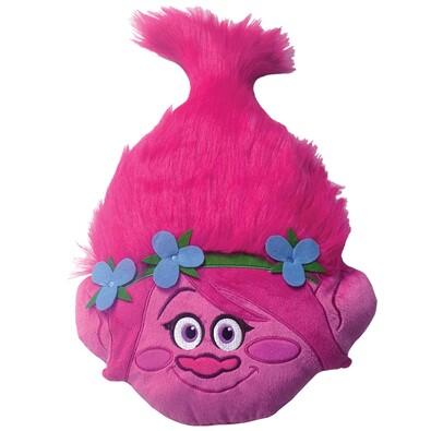 Polštářek Trolls Poppy Head 3D, 33 x 54 cm