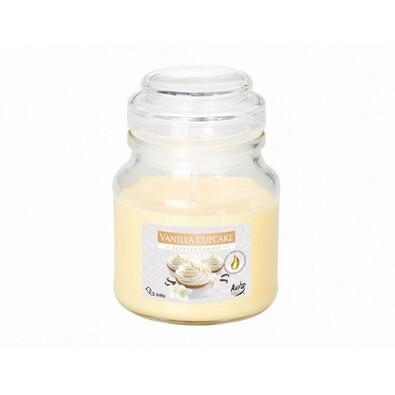 Vonná svíčka ve skle Vanilkový Cupcake, 120 g