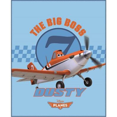 Dětská deka Planes Dusty, 110 x 140 cm