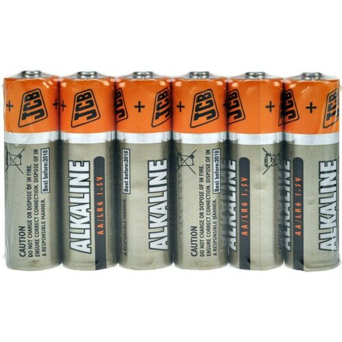 JCB SUPER alkalická batéria LR06, zmenšiť 6 ks (JCB-LR6-6S)