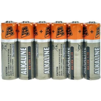 JCB SUPER alkalická baterie LR06 (AA)