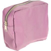 Kosmetická taštička Playa růžová, 17,5 x 13 x 5 cm