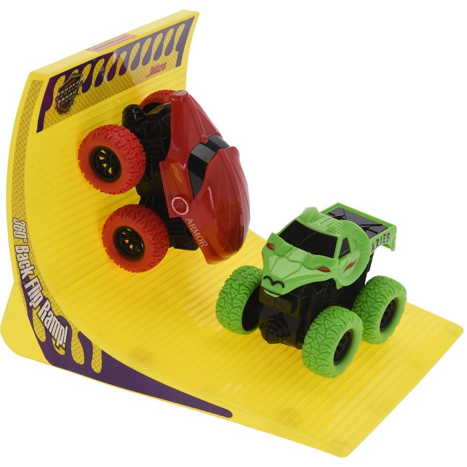 Fotografie Dětský hrací set Monster truck, červená