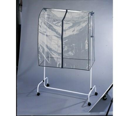 Ochrana na stojan s oblečením, transparentní, 117 x 97 x 53 cm