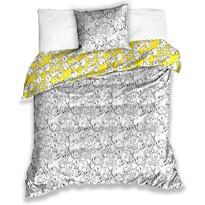 Lenjerie de pat din satin pentru copii Tweety, 140 x 200 cm, 70 x 90 cm