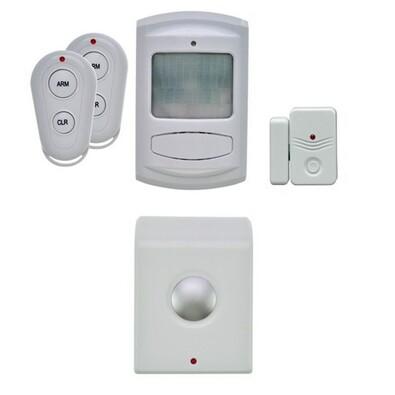 Solight GSM Alarm set pohybový a okenní senzor