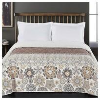 DecoKing Narzuta na łóżko Alhambra brązowy, 220 x 240 cm