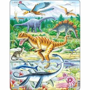 Larsen Puzzle Dinosauři, 35 dílků