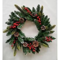 Levante karácsonyi koszorú, átmérő: 50 cm