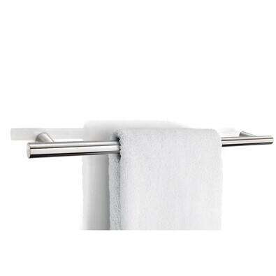 Věšák na ručníky 60 cm, nerez