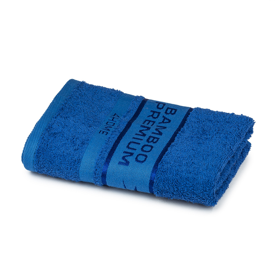 Produktové foto 4Home Ručník Bamboo Premium modrá, 50 x 100 cm