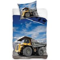 Pościel bawełniana Ciężarówka, 140 x 200 cm, 70 x 90 cm