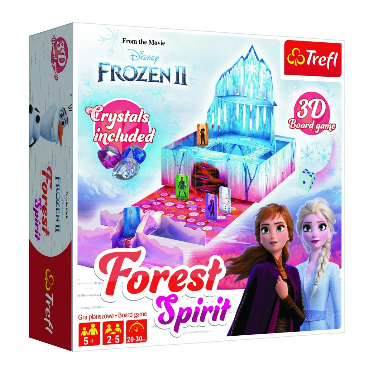 Trefl hra Forest spirit Frozen 2