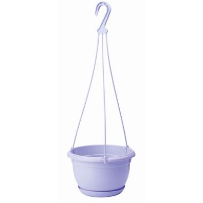 Plastový květináč Malta 21 cm, fialová