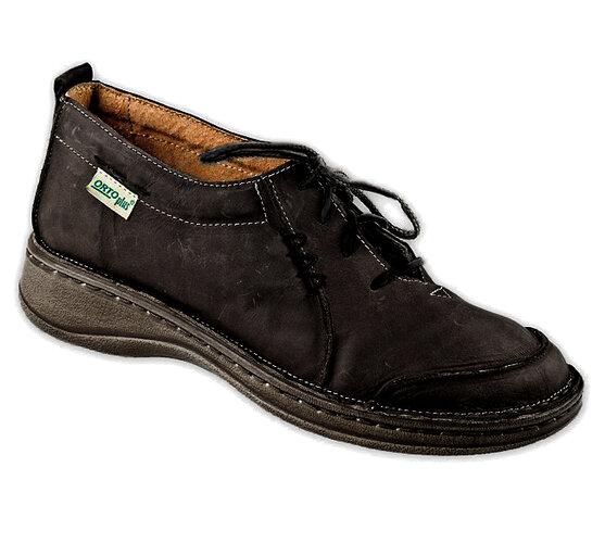 Orto Plus Dámska vychádzková obuv vel. 41 čierna