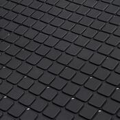 Protišmyková podložka do kúpeľne čierna, 69 x 39 cm