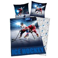 Bavlnené obliečky Ice Hockey, 140 x 200 cm, 70 x 90 cm