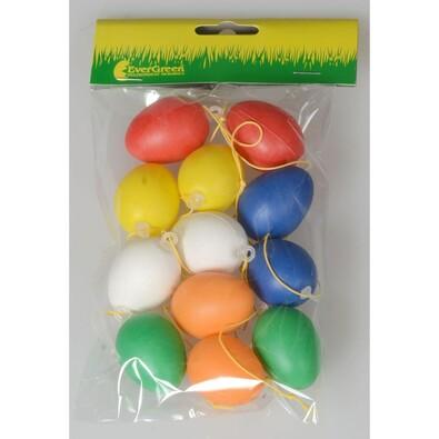 Velikonoční barevná vajíčka nezdobená, sada 2 balení