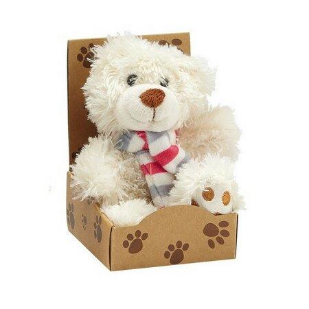 Plyšový medvídek Teddy, bílá