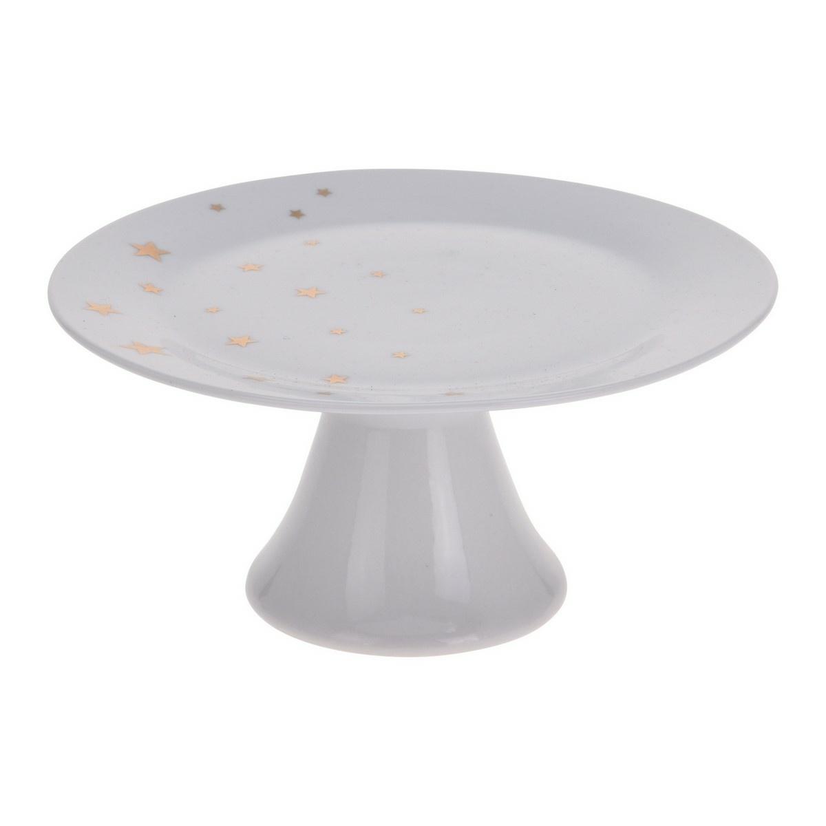 Porcelánový servírovací podnos, 21 cm