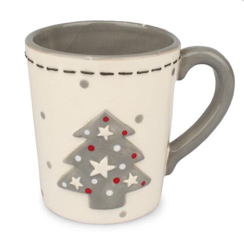 Keramický hrnek Vánoční stromeček, 300 ml