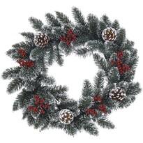 Pomesia karácsonyi koszorú, zöld, 45 cm