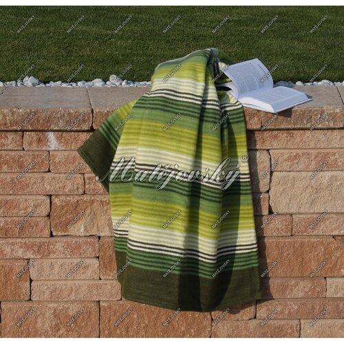 Matějovský bavlnená deka Summer zelená, 160 x 220 cm