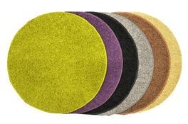 Kusový koberec Elite Shaggy béžová, průměr 120 cm