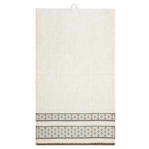 Osuška Vanesa bílá, 70 x 140 cm