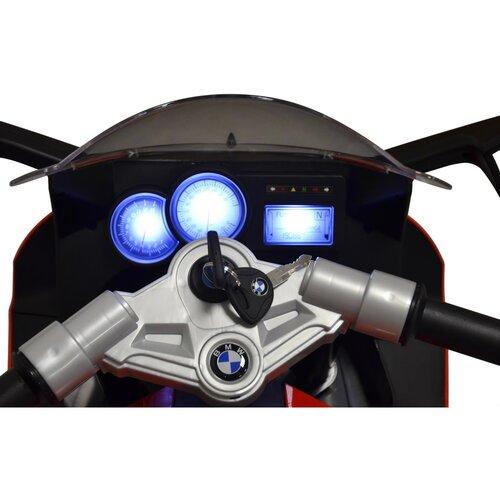 Buddy Toys BEC 6011 Elektrická motorka BMW K1300, červená