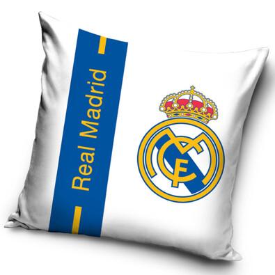 Polštářek FC Real Madrid Logo, 40 x 40 cm
