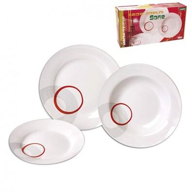Porcelánová jídelní souprava Sofie 18 ks