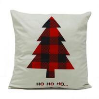 Domarex Obliečka na vankúšik Vianočný stromček, 45 x 45 cm