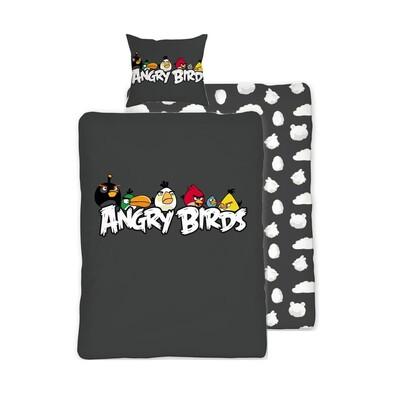 Dětské bavlněné povlečení Angry Birds Hang Around, 140 x 200 cm, 70 x 90 cm